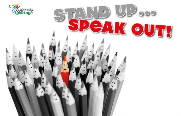 Stand Up Speak Out